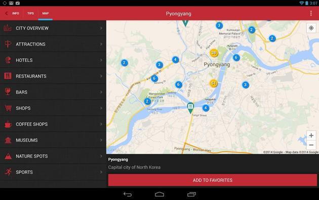 Don't go to North Korea, but do check out this travel app