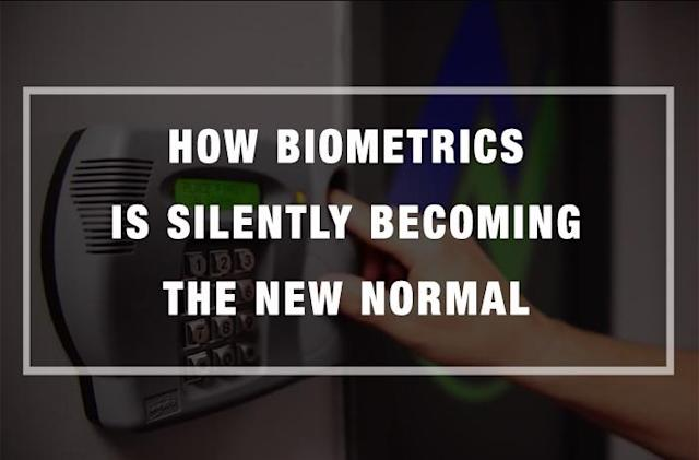 How Biometrics is Silently Becoming the New Normal [Infographic]