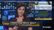 Verifone beats on top line