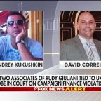 Giuliani associates tied to Ukraine probe face campaign finance violation charges