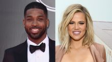 Khloe Kardashian and Tristan Thompson Cuddle Up During Family Vacation