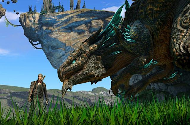A game about a dude and his dragon is my Xbox One must-have
