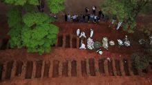 Brasil registra 1.129 novas mortes por Covid-19 e total de óbitos atinge 91.263