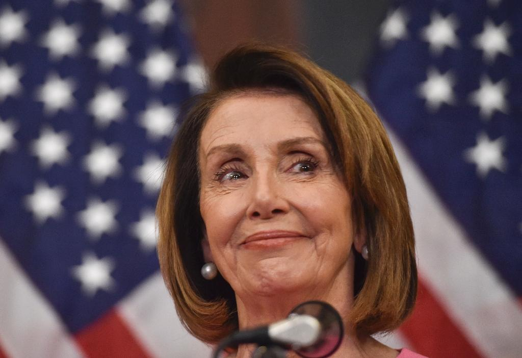 Nancy Pelosi seems destined to again become Speaker of the House when the new US Congress meets in January 2019 (AFP Photo/Nicholas Kamm)
