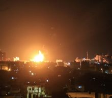 Israel says could get tougher on Gaza after warplanes hit Hamas