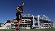 Marcinho, do Botafogo, passará por 'limpeza' no joelho; previsão é de rápida recuperação