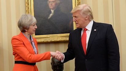 Trump Will Still Come To The UK For Breakfast With Outgoing PM Theresa May
