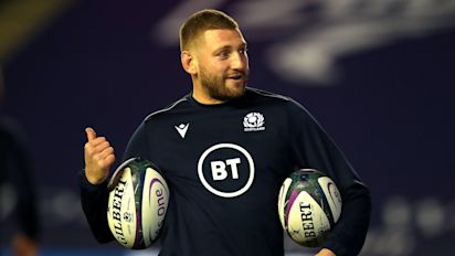 Gregor Townsend praises Finn Russell's 'positive impact' in Scotland success