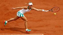 French Open: Kerber makes unwanted history with immediate exit