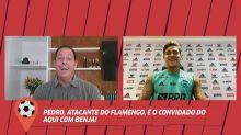 Pedro diz ser Flamengo 'desde criança' e fala sobre retorno ao clube: 'Fiz a escolha certa'