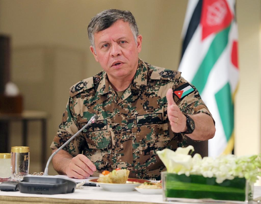 "Jordan's King Abdullah II says Islamic State jihadists are ""savage outlaws of religion, devoid of humanity"""
