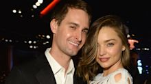 Miranda Kerr and Snapchat CEO Evan Spiegel are married