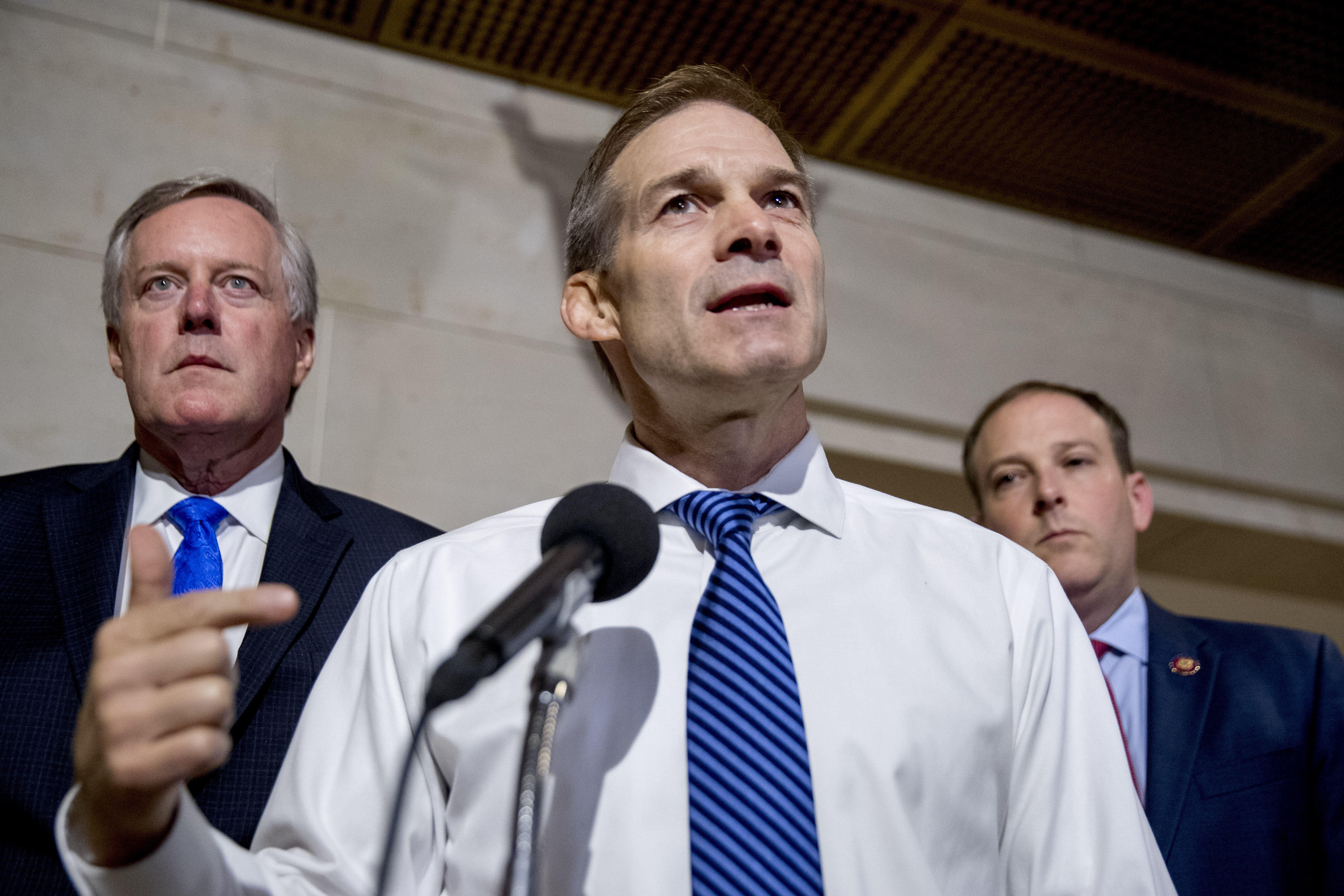 Jim Jordan to be moved to House Intelligence Committee