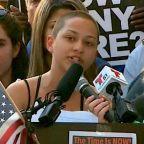 Parkland Shooting Survivor Emma Gonzalez Calls Out Trump on Gun Control (Video)