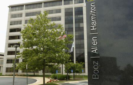 Booz Allen Hamilton Holding Corp office building is seen in McLean