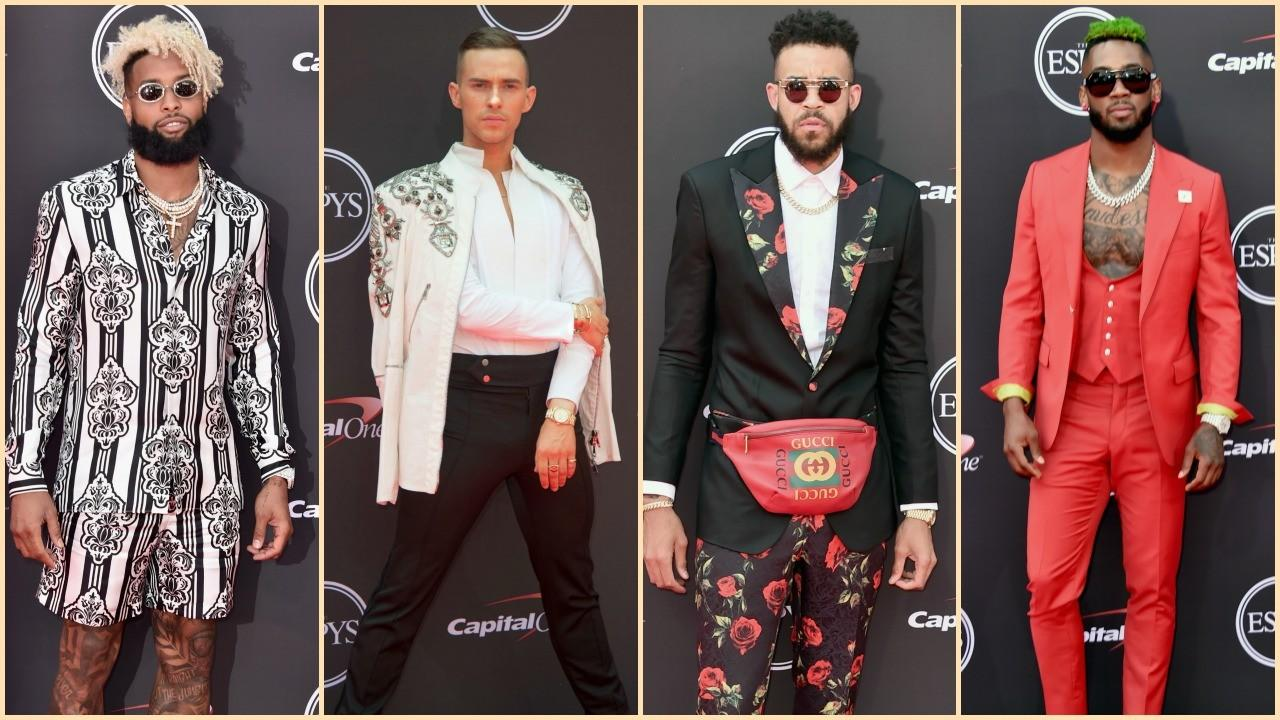 790bb44ad The Best and Boldest Men's Fashion on the 2018 ESPYs Red Carpet