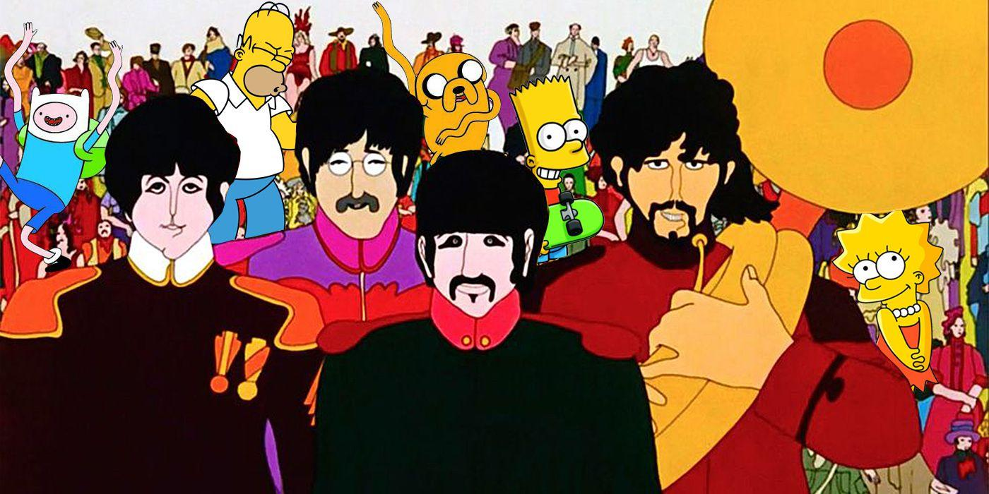 'The Simpsons' Wouldn't Exist Without 'Yellow Submarine'
