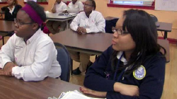 Young Women's Leadership Charter School in Bronzeville empowers African-American women