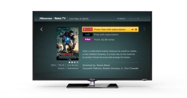 Roku renews bid for the living room with streaming-ready Roku TVs
