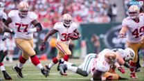 49ers RB Kendall Hunter Out With Torn ACL