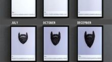 A Calendar That Chronicles Your Beard Growth