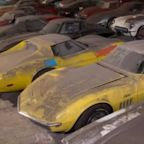 Watch: 36 Chevy Corvettes Barn Find