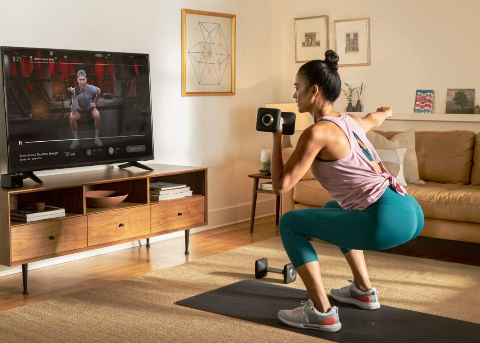 Peloton's workout app is now available on Android TV