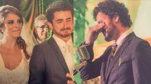 Rafa Brites relembra crise de choro de Andreoli no casamento