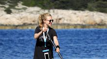 Amanda Seyfried, paddlemanía en Croacia