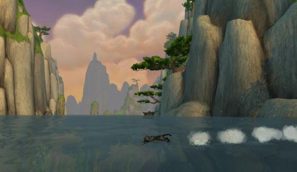 Around Azeroth: Cat versus water
