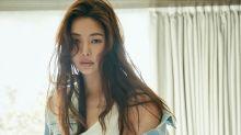 韓國女藝人 李哈妮拍雜誌寫真展成熟性感魅力