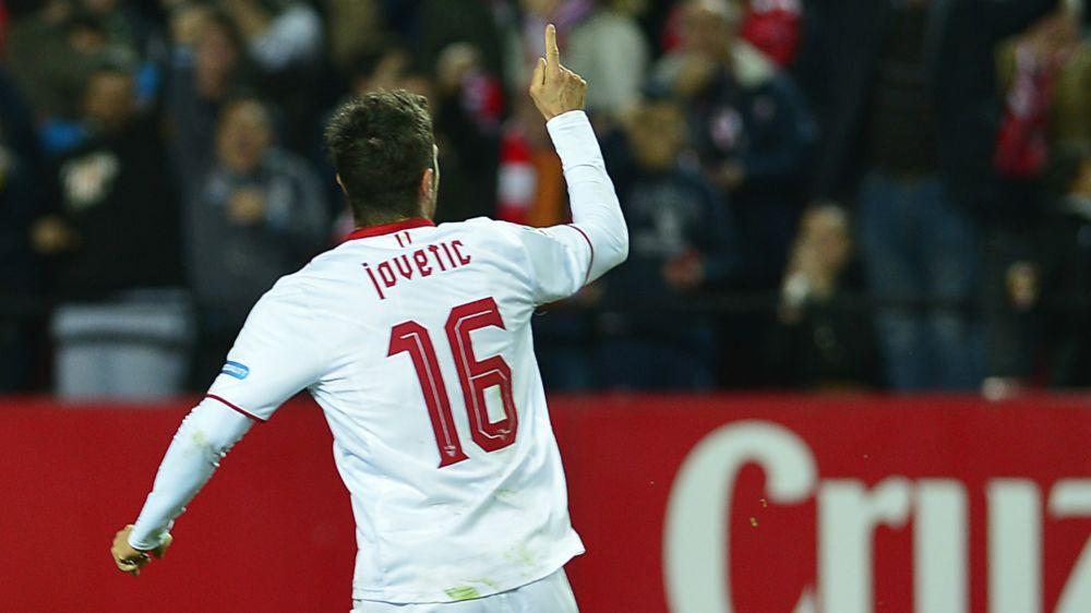 """Jovetic ci spera: """"All'Inter sei mesi difficili, voglio restare a Siviglia"""""""