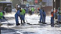 Oil Spill Clean Up in L.A.