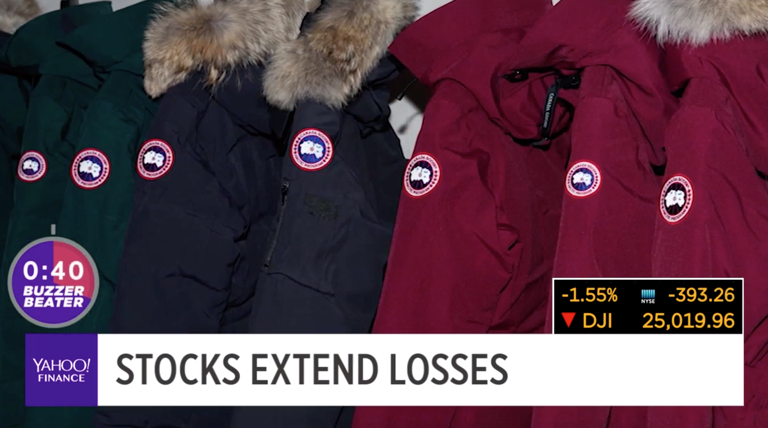 b0235fd30da Canada Goose jackets causing too big a bill [Video]