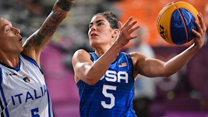 Watch live: U.S. goes for gold in women's 3x3 hoops
