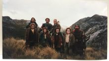 Rare Lord of the Rings behind the scenes photos shared by Orlando Bloom