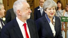 Theresa May warned her Brexit strategy risks handing Jeremy Corbyn the keys to Downing Street