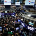 Wall Street closes lower, Treasury prices higher