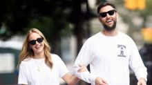 Jennifer Lawrence and Cooke Maroney Spotted at New York City Marriage Bureau