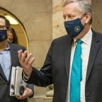 Negotiators huddle in Capitol after $600 extra jobless benefit expires as coronavirus cases rise