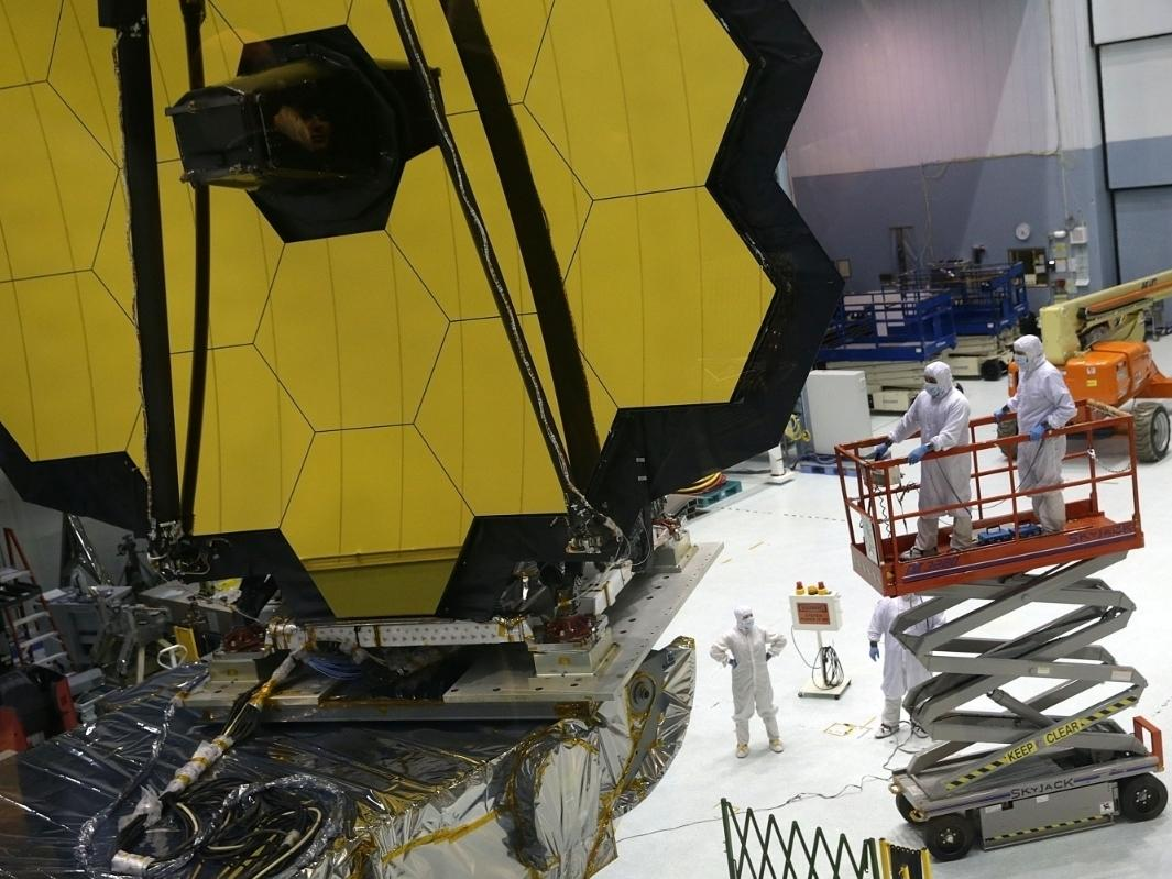 James Webb Space Telescope will launch on Oct. 31, 2021.