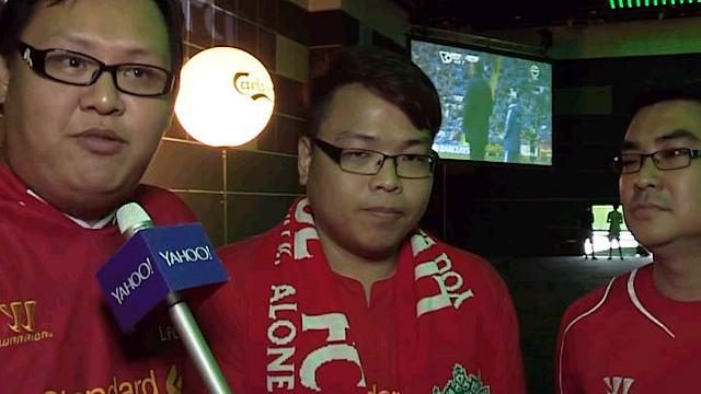 Singapore football fans congratulate Man City on EPL title