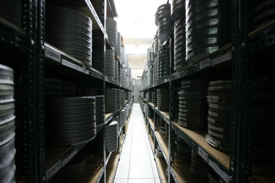 國家電影中心的樹林片庫藏有大批膠卷,並依狀況設定溫濕度。(國家電影中心提供)