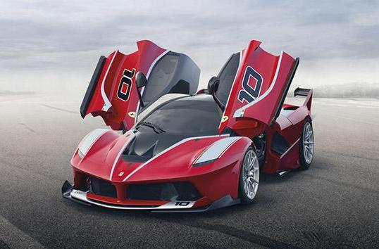 The FXX K hybrid supercar is LaFerrari's more powerful sibling