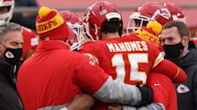Chiefs' Mahomes practices, remains in concussion protocol
