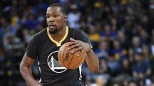 Kevin Durant out for Game 2 against Portland with a left calf strain