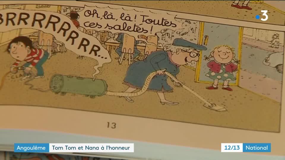BD : Tom-Tom Et Nana à L'honneur Au Festival D'Angoulême