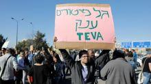 Huelga y manifestaciones en Israel contra los despidos en la farmacéutica Teva