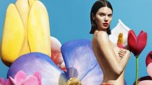 Kendall Jenner Unveils Another Risqué Underwear Campaign