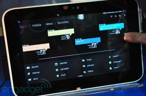 Microsoft to demo Windows 8 tablet interface in June?